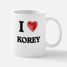 I love Korey Mugs