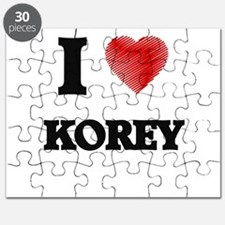 I love Korey Puzzle