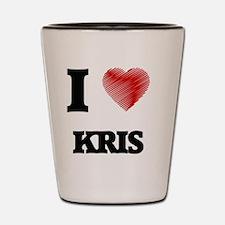 I love Kris Shot Glass
