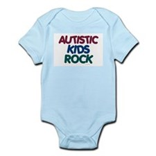 Autistic Kids Rock 1 (Muted Jewel) Infant Bodysuit