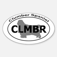 CLUMBER SPANIEL Decal