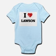 I love Lawson Body Suit