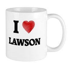 I love Lawson Mugs