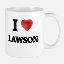 I love Lawson Mugs