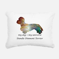 DANDIE DINMONT TERRIER Rectangular Canvas Pillow