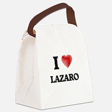 I love Lazaro Canvas Lunch Bag