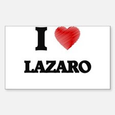 I love Lazaro Decal
