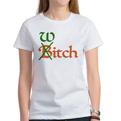 Bitch Witch Women's T-Shirt