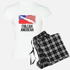 Chilean American Flag Pajamas