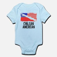 Chilean American Flag Body Suit