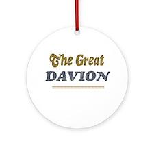 Davion Ornament (Round)