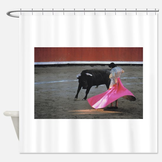 Bull fighter Shower Curtain