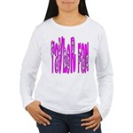 Taylor fan Women's Long Sleeve T-Shirt