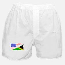 Jamaican American Flag Boxer Shorts