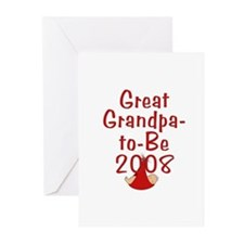 Great Grandpa-to-Be 2008 Greeting Cards (Pk of 10)