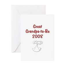 Great Grandpa-to-Be 2008 Greeting Card