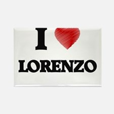 I love Lorenzo Magnets