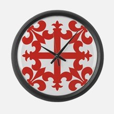 Sinclair Cross Large Wall Clock