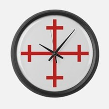 Rosy Cross Large Wall Clock