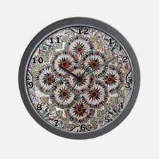Pinwheel Circles Wall Clock
