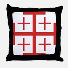 Order of Jerusalem Throw Pillow
