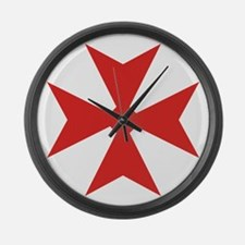 Scottish Variation Large Wall Clock