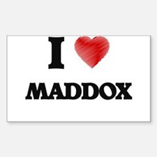I love Maddox Decal