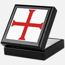 Templar Cross Keepsake Box