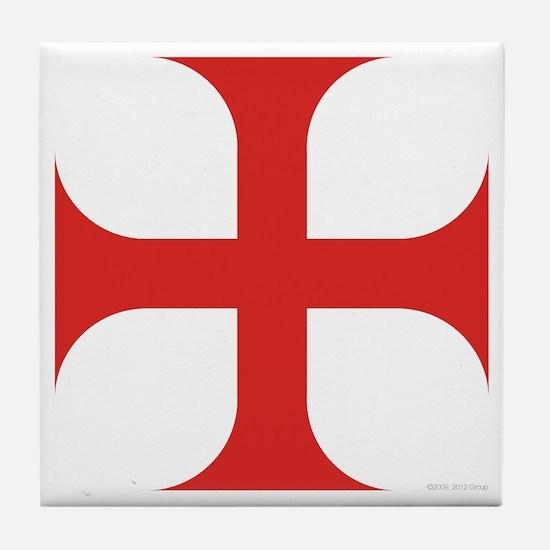 Maltese Order Tile Coaster