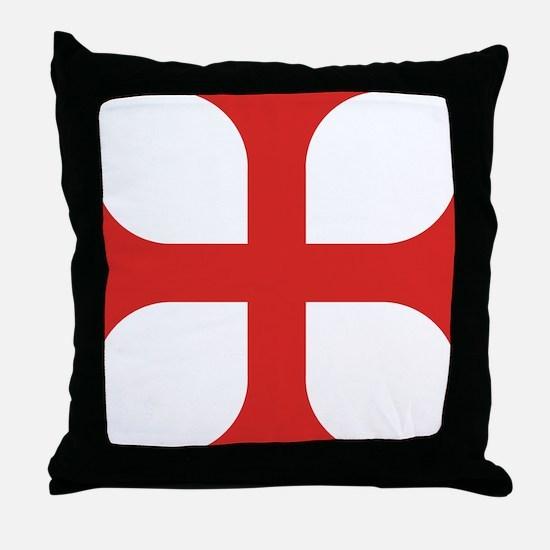 Maltese Order Throw Pillow