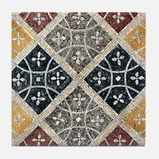 Geometric Circles Tile Coaster