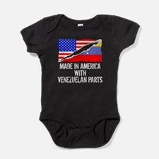 Made In America With Venezuelan Parts Baby Bodysui