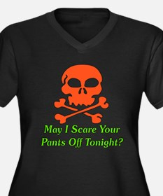 Halloween Pickup Line Women's Plus Size V-Neck Dar