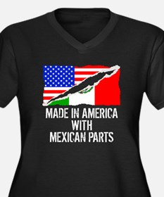 Made In America With Mexican Parts Plus Size T-Shi