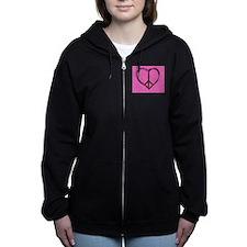 Cute Enviormental Women's Zip Hoodie