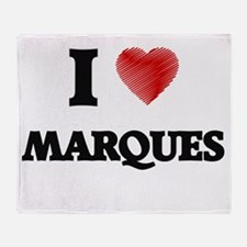 I love Marques Throw Blanket