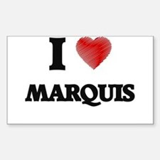 I love Marquis Decal