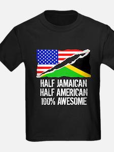 Half Jamaican Half American Awesome T-Shirt
