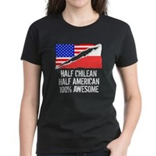 Half Chilean Half American Awesome T-Shirt