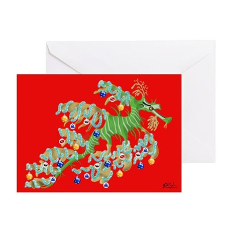 Sea Dragon Holiday Greeting Cards (Pk of 20)