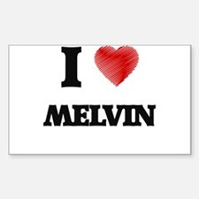 I love Melvin Decal