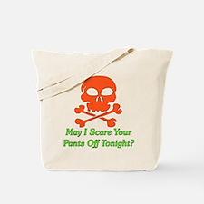 Halloween Pickup Line Tote Bag