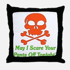 Halloween Pickup Line Throw Pillow