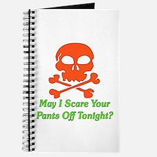 Halloween Pickup Line Journal