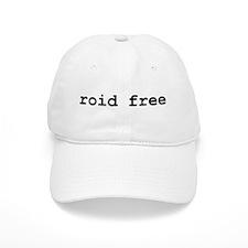 roid free Baseball Cap