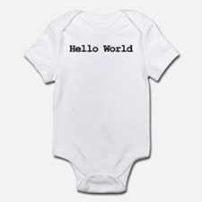 HelloWorld Body Suit