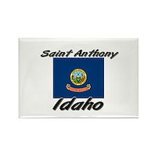 Saint Anthony Idaho Rectangle Magnet