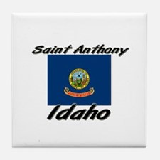 Saint Anthony Idaho Tile Coaster
