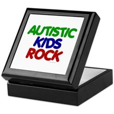Autistic Kids Rock 1 (Primary) Keepsake Box
