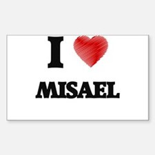 I love Misael Decal
